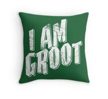 I am Groot Shirt Throw Pillow