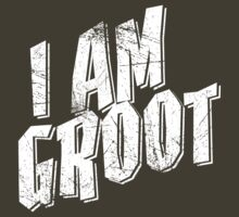I am Groot Shirt by JayJaxon