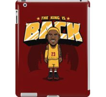 The King is Back iPad Case/Skin