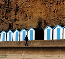 The Morning Constitutional @ Sandown, Isle of Wight by Photography  by Mathilde