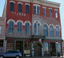 Tabor Opera House, Leadville, Colorado by Margaret  Hyde