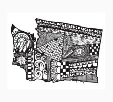 Washington ZenDoodle Kids Clothes