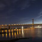 Forth Road Bridge at Night - Scotland by Paul Campbell  Photography