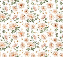 Flower samless pattern for your wallpaper design by Kotkoa