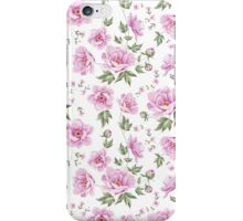 Floral tile pattern for vintage design iPhone Case/Skin