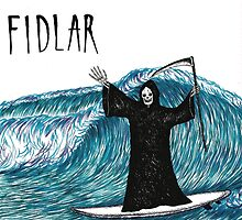 FIDLAR Surfing Death by ALLCAPS