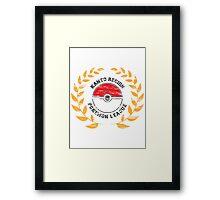 Regional Champion Colour Framed Print