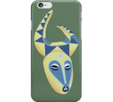 Yellow Tiki iPhone Case/Skin