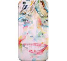 JONI MITCHELL - watercolor portrait iPhone Case/Skin