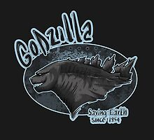 Godzilla - saving Earth since 1945 by Arry