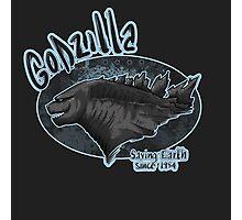 Godzilla - saving Earth since 1945 Photographic Print