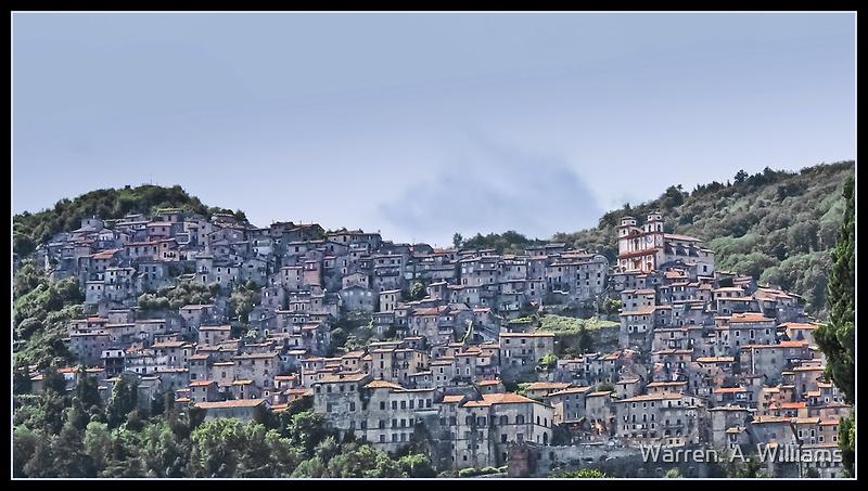 Artena Italy by Warren. A. Williams
