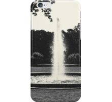 "Park view 1 - ""Trampoline of water"" iPhone Case/Skin"