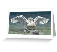 Protection Greeting Card