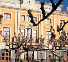 Square in Portugalete Sticker