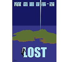 LOST minimialist poster Photographic Print