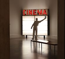 Cinema at the Pop Art Show by Gilda Axelrod