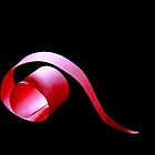 red twirl by lensbaby