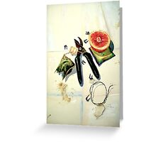 Still Life with Picture Wire Greeting Card