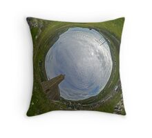 Glencolmcille Church - Sky In Throw Pillow