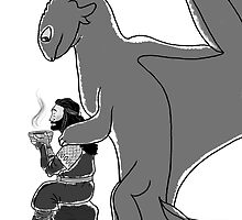 Thorin and Toothless by AllyBee