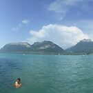 Lake Annecy by cadellin