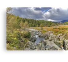 River Duddon Lake District Canvas Print
