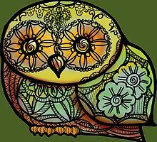 Owl Tattoo-style by BagChemistry
