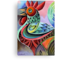 Rooster 3 Canvas Print