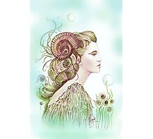 """THE ARIES"" - Protective Angel for Zodiac Sign Photographic Print"