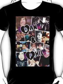 Dan and Phil Collage T-Shirt