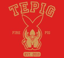 Tepig - College Style by mrbrownjeremy