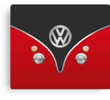 Special Red Volkswagen Camper Van Canvas Print