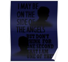 Side of the Angels Sherlock Poster