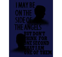 Side of the Angels Sherlock Photographic Print