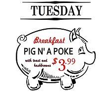 Pig N a Poke  by rwang