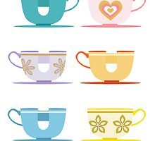 Disneyland Tea Cups by ThatDisneyLover