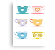Disneyland Tea Cups Canvas Print