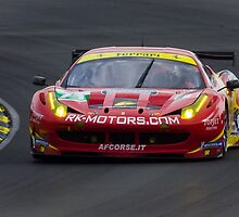 Ferrari 458 Italia GT2 at Le Mans by TomGreenPhotos