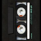 Classic Retro Sony black cassette Tape by Johnny Sunardi