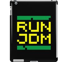 RUN JDM (3) iPad Case/Skin