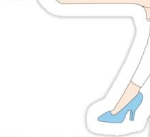 TWERKIGN CINDERELLA Sticker