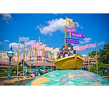 It's a Small World Photographic Print