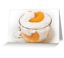 Peaches & Cream III Greeting Card