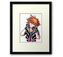 Sora - Kingdom Hearts Framed Print