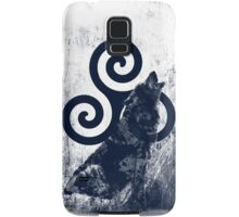 Triskele and Wolf Samsung Galaxy Case/Skin