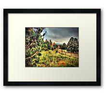 Garden of the Gods Framed Print