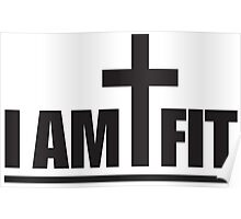I Am Cross Fit Poster
