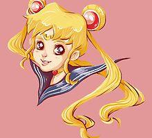 Sailor Moon by hbitik