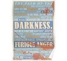Pulp Fiction: Ezekiel 25:17 (Bloodied) Poster